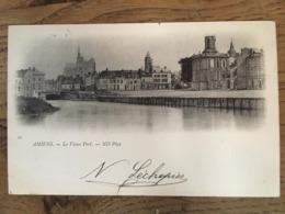 CPA, écrite En 1902, Amiens, Le Vieux Port, éd ND, Timbre - Amiens