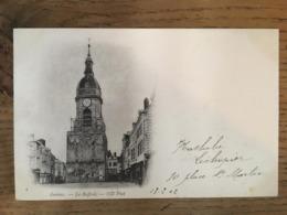CPA, écrite En 1902, Amiens, Le Beffroi, éd ND, Timbre - Amiens