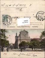 640483,Prag Praha St. Ignatz Kirche Karlsplatz - Cartoline