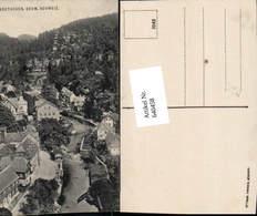 640458,Böhmische Schweiz Hrensko Herrnskretschen - Cartoline