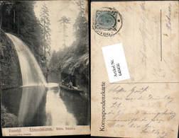 640456,Böhmische Schweiz Hrensko Herrnskretschen Edmundsklamm Pub Poy 45 - Cartoline