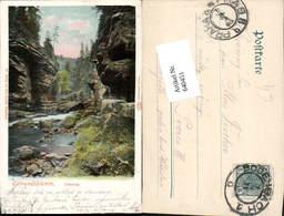 640451,Böhmische Schweiz Hrensko Herrnskretschen Edmundsklamm Festung - Cartoline