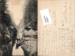 640450,Böhmische Schweiz Hrensko Herrnskretschen Edmundsklamm Breite Stein Pub Poy 57 - Cartoline