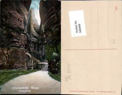640449,Böhmische Schweiz Teplice Nad Metuji Wekelsdorf Nachod Domplatz - Cartoline
