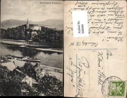 640444,Tetschen Bodenbach An Der Elbe Böhmen Decin Dampfer Bastei 1900 - Cartoline