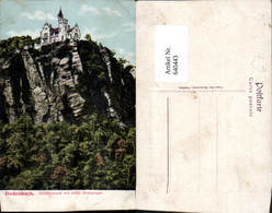 640443,Tetschen Bodenbach An Der Elbe Böhmen Decin Schäferwand Restauration - Cartoline