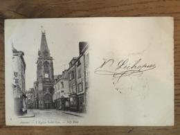 CPA, écrite En 1901, Amiens, L'Eglise Saint Leu, éd ND, Timbre - Amiens