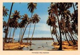 PIE-Z AR-19-2330 :  PAYSAGE POLYNESIEN - Frans-Polynesië
