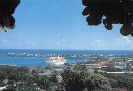 PIE-Z AR-19-2331 :  LE PORT DE PAPEETE. TAHITI. - Tahiti
