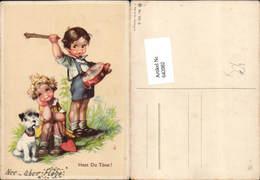 642082,Scherz Humor Trommel Kinder Hund - Humor