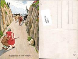 642077,Scherz Humor Dicke Frau Kühe Mann Gehstock - Humor