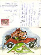 642063,Scherz Humor Auto Sign. HAFNER Stp. Kolbnitz - Humor