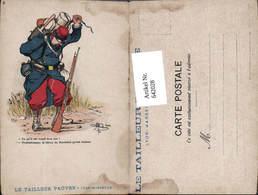 642028,Künstler AK Guillaume Satire Karikatur Humor Scherz Militär Soldat - Humor