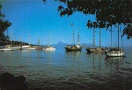 PIE-Z AR-19-2333 :  TAHITI. LA PLAGE DE PAPEETE - Tahiti