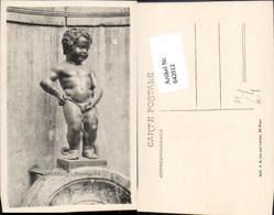 642012,Humor Scherz Toilettenhumor Junge Pinkelt Brüssel Bruxelles - Humor