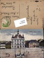 641912,Turnov Turnau In Böhmen Hauptplatz - Cartoline