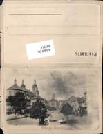 641911,Mariaschein Unterer Platz Bohosudov Krupka Böhmen 1900 Teplice Teplitz Aussig - Cartoline