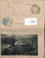 641900,Krivoklatu Burg Roztoky U Křivoklátu Rakovnik Rostok Böhmen - Cartoline