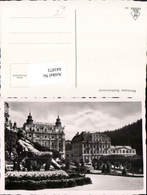 641873,Marienbad Marianske Lazne Eger Cheb Hotel Stern Goethe Denkmal - Cartoline