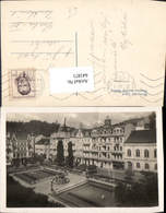 641871,Marienbad Marianske Lazne Bei Eger Cheb Grand Hotel Pacific - Cartoline