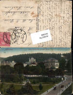 641868,Marienbad Marianske Lazne Bei Eger Cheb König Eduard Weg Kirche - Cartoline
