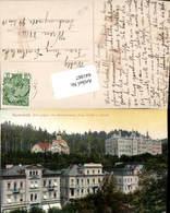 641867,Marienbad Marianske Lazne Bei Eger Cheb Russische Kirche Kaiserstraße Schule - Cartoline