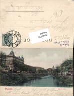 641864,Pilsen Plzen Mlynska Stoka - Cartoline