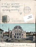 641862,Pilsen Plzen Neues Böhmisches Theater Pub Mehner & Maas 7740 - Ansichtskarten