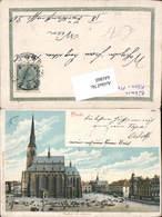 641860,Lithographie Pilsen Plzen - Cartoline