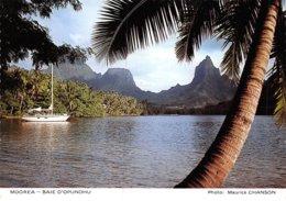 PIE-Z AR-19-2336 :  MOOREA. BAIE D'OPUNOHU - Frans-Polynesië