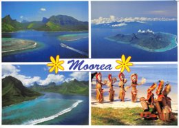 PIE-Z AR-19-2337 :  MOOREA.  VUES MULTIPLES. - Frans-Polynesië