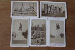 5 Cdv Vers 1870 De REIMS  ( Marne ) - Ancianas (antes De 1900)