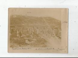 TAFORALT (MAROC) PHOTO AVEC MILITAIRES FRANCAIS ET VILLAGEOIS 1912 - War, Military