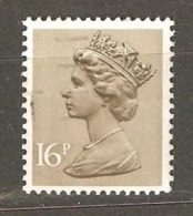 Great Britain: 1 Used Stamp From A Set, 1983, Mi#947-I - Machins
