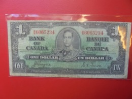 CANADA 1$ 1937 CIRCULER (B.9) - Canada