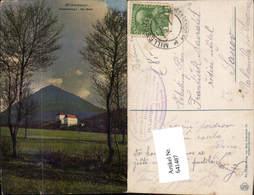 641487,Milleschauer Donnersberg Milleschau Riesengebirge Aussig Milesovka - Ansichtskarten