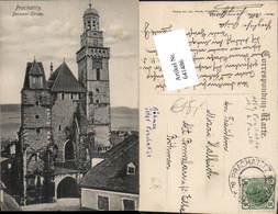 641486,Prachatitz Prachatice Decanal Kirche Böhmen - Ansichtskarten