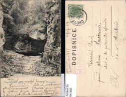 Prachovske Skaly Postablagestempel Nova Ves Neuesdorf Chotebor Havlickuv Brod - Ansichtskarten