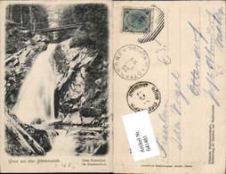 641481,Böhmerwalde Ossa Wasserfall Klammerloch Böhmisch Eisenstein - Ansichtskarten