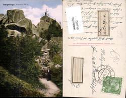 641472,Isergebirge Nußstein Oresnik Ferdinandov Haindorf Hejnice - Ansichtskarten