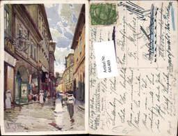 641469,Künstler AK Jaroslav Setelik Kutna Hora Kuttenberg Böhmen - Ansichtskarten