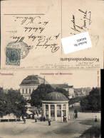 641455,Franzensbad Franzensquelle Kaiserstrasse Pub Poy 354a - Ansichtskarten