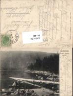 641445,Sumava Cerne Jezero Böhmerwald Böhmen Zelezna Ruda Hojsova Straz - Ansichtskarten