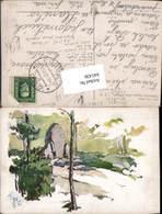 641436,Künstler AK Emil Pitter Trocnov Böhmen Zizkovo Zaluzi Borovany Stp. Ledenice - Ansichtskarten