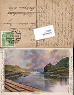 Lithographie F. Kopallik Aussig An Der Elbe Usti Nad Labem Schreckenstein Philipp & K - Ansichtskarten
