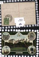 641398,tolle Passepartout Lithographie Svata Hora Kloster Heiliger Berg Pribram - Ansichtskarten
