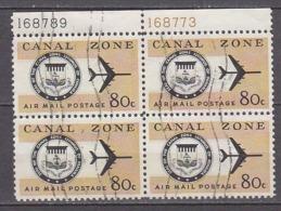 G2058 - PANAMA CANAL ZONE AERIENNE Yv N°48 BLOC - Kanalzone