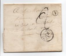 - Boite Rurale BOURBEVELLE Via CORRE (Haute-Saône) Pour LAMARCHE (Vosges) 28 MARS 1850 - Taxe Manuscrite 2 Décimes - - Marcofilie (Brieven)