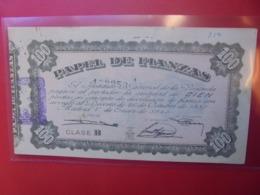 ESPAGNE 100 PESETAS 1940 CIRCULER (B.9) - [ 3] 1936-1975: Regime Van Franco