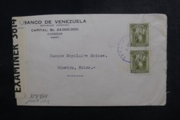 VENEZUELA - Enveloppe Commerciale De Caracas Pour La Suisse Avec Contrôles Postaux - L 47863 - Venezuela